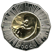 25 kuna (Foetus) -  avers