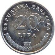 20 lipa (Maslina) -  revers