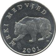 5 kuna (Mrki medvjed) -  avers