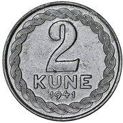 2 kune – revers
