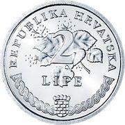 2 lipe (Vitis Vinifera) -  revers