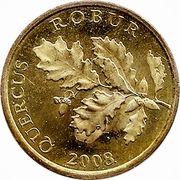 5 lipa (Quercus robur) -  avers