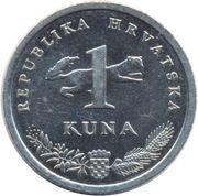 1 kuna (Slavuj) -  revers