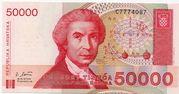 50000 Dinara -  avers