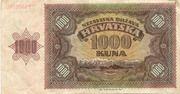 1000 Kuna – revers