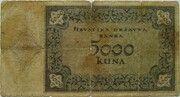 5000 Kuna – revers