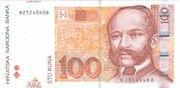 100 kuna – avers