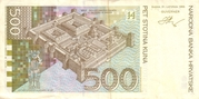500 Kuna – revers