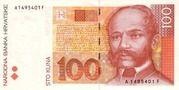 100 Kuna (Invalid) – avers