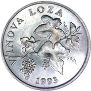 2 lipe (Vinova Loza) – avers
