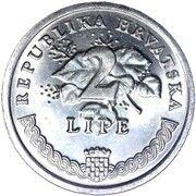 2 lipe (Vinova Loza) – revers