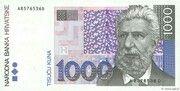 1000 Kuna – avers