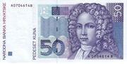 50 kuna – avers