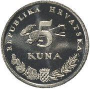 5 kuna (Ursus Arctos) -  revers