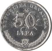 50 lipa (Velebitska degenija) -  revers