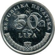 50 lipa (Degenia velebitica) -  revers