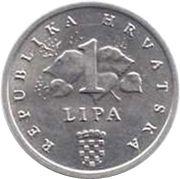 1 lipa (FAO) – revers