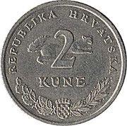 2 kune (Tunj) -  revers