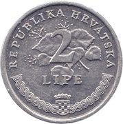 2 lipe (Vinova Loza) -  revers