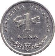 1 kuna (10ème anniversaire) -  revers