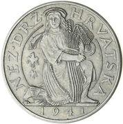 2 Kuna (Pattern; nickel) – avers