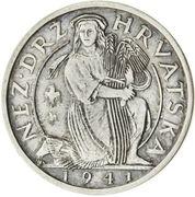 2 Kuna (Pattern; silver) – avers