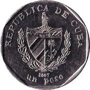 1 peso (Hotel Guamà) -  avers