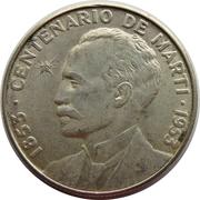 50 centavos (José Marti) -  revers