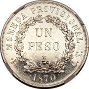Peso (Essai) – revers