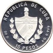10 pesos Mérou jaune -  avers