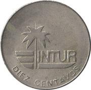 10 centavos (INTUR) – revers