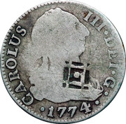 2 Reales – avers