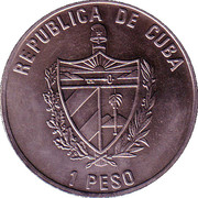 1 Peso (Monumentos de Cuba) -  avers