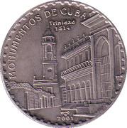 1 Peso (Monumentos de Cuba) -  revers
