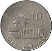 10 centavos (INTUR - avec 10) -  revers