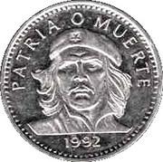 3 pesos Che Guevara (cupronickel) -  revers