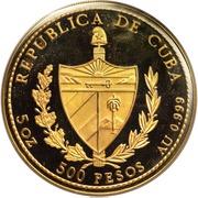 500 Pesos (Christopher Columbus) – avers