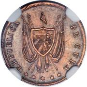 5 Centavos (Pattern) – avers