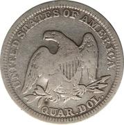 25 Centavos (Countermarked) – revers