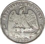 1 Peso (Countermarked) – revers