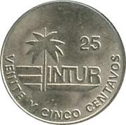 25 centavos (INTUR) -  revers