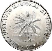 50 centavos (INTUR) – avers