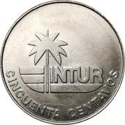 50 centavos (INTUR) – revers