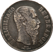 1 Peso (Countermarked) – avers