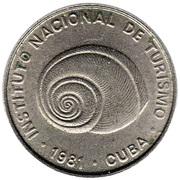 5 centavos (INTUR) – avers