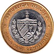 5 pesos (Ernesto Che Guevara) – avers