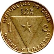 1 centavo (José Marti) -  avers