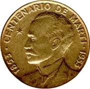 1 centavo (José Marti) -  revers