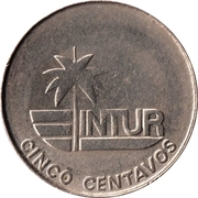 5 centavos (INTUR - sans le 5) – revers