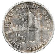 20 centavos (50 ans de la République) -  avers